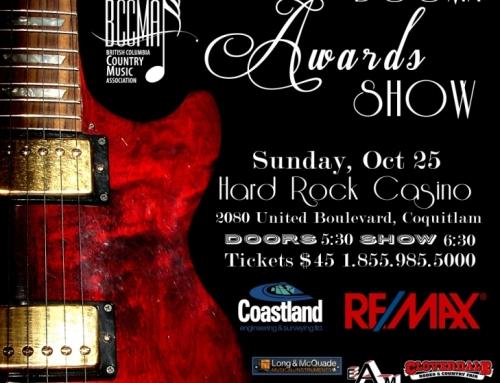 OCT 25TH BCCMA AWARDS