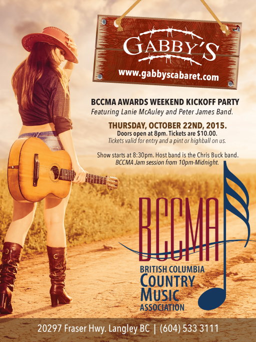 THURS Oct 22-Gabby