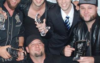 CHRISBUCKBAND-Winning 2 Awards at 2015 BC Country Music Association Awards
