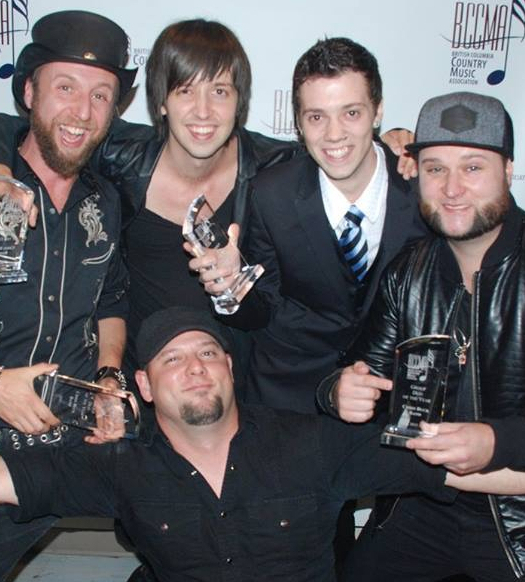 CHRIS BUCK BAND – Winner of 2 Awards: Best Group of the Year, and Best Act of the Year