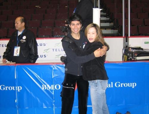 Emanuel Sandhu with Monica