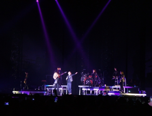 Wes Mack on Stage with Shania Twain